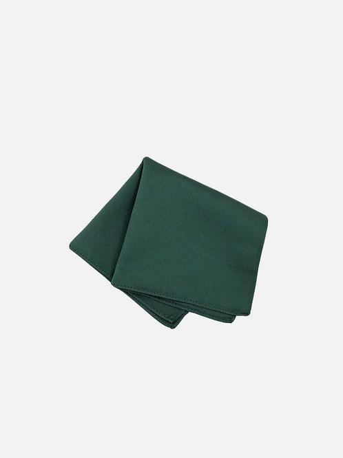Solid Hunter Green Pocket Square