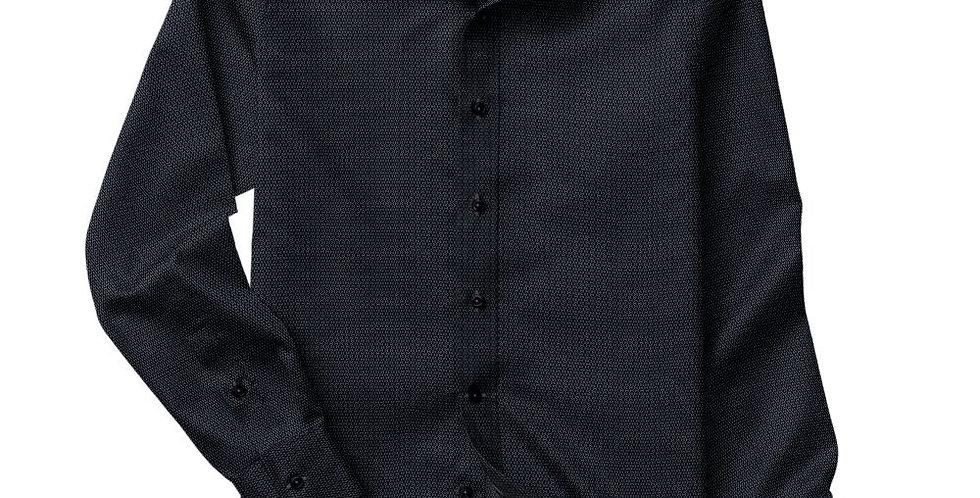 Charcoal Dobby Shirt
