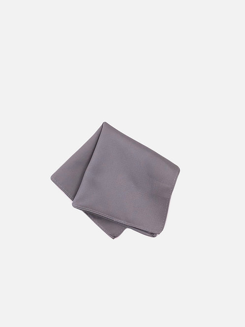 Solid Smoke Pocket Square