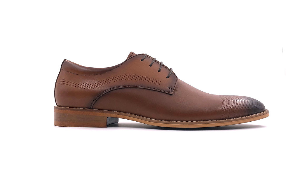 Tan Derby Lace Up