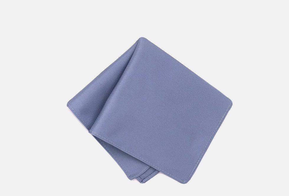 Solid Cloud Blue Pocket Square