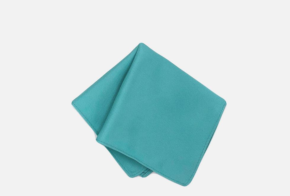 Solid Tiffany Pocket Square