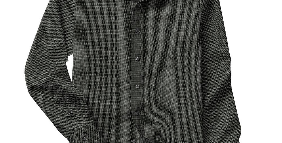 Black Broken Stripe Shirt