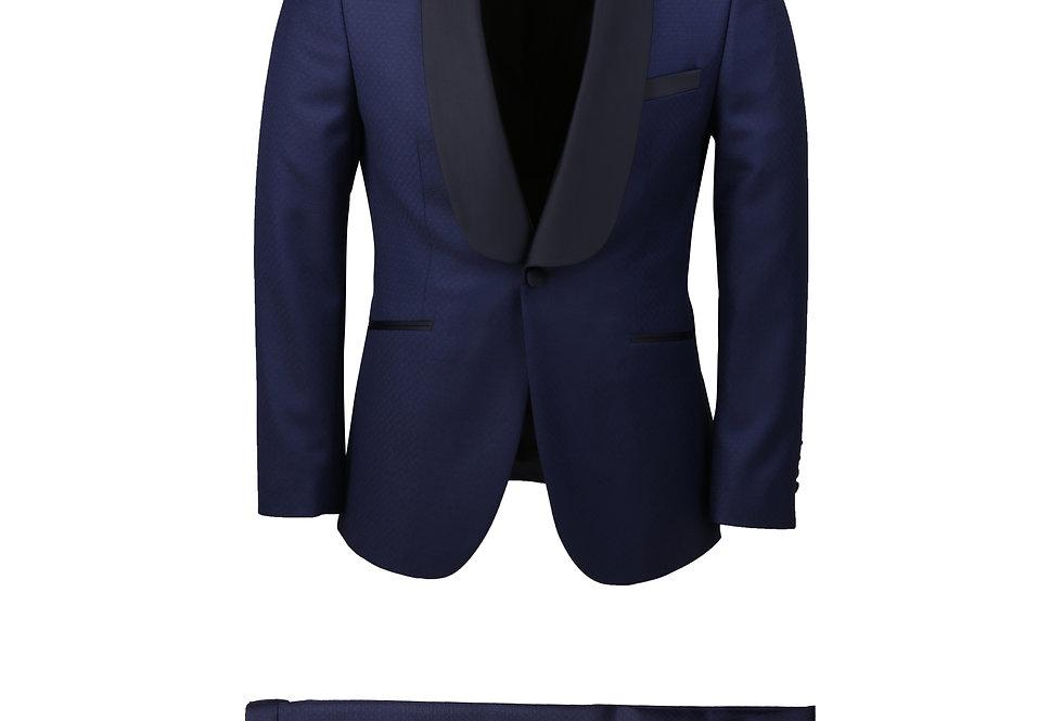 Dormeuil Blue Shawl Tuxedo
