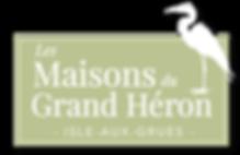 Logo Maisons du Grand Héron Ile aux Grues