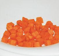 Carottes en cubes La Légumerie