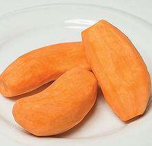 Patates douces rondes pelées La Légumerie
