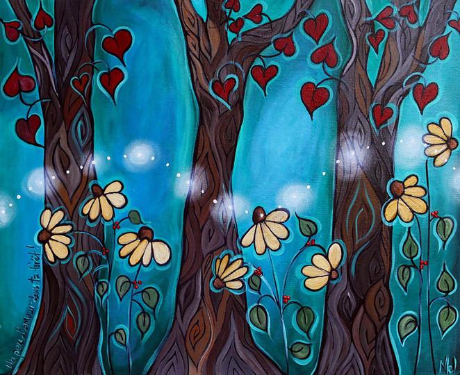 Un peu d'amour dans ta forêt