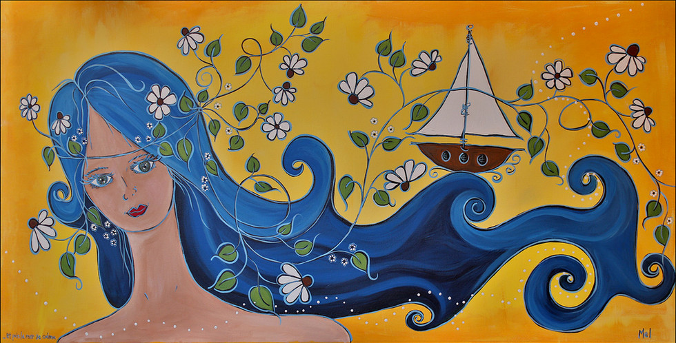 Et puis la mer se calma