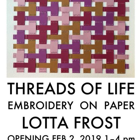 Utställning: Threads of life, Svenska Kyrkan i NY