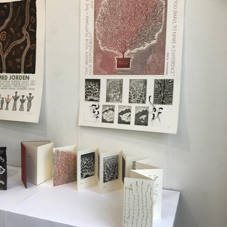 Avslutningsutställning: Artists Books Grafikskolan Stockholm