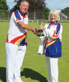 Crouch Cup Winner Dave Giffard