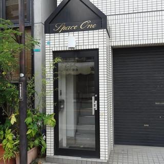 事務所ビル入口