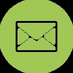 丸枠付きのメールのアイコン素材 4.png