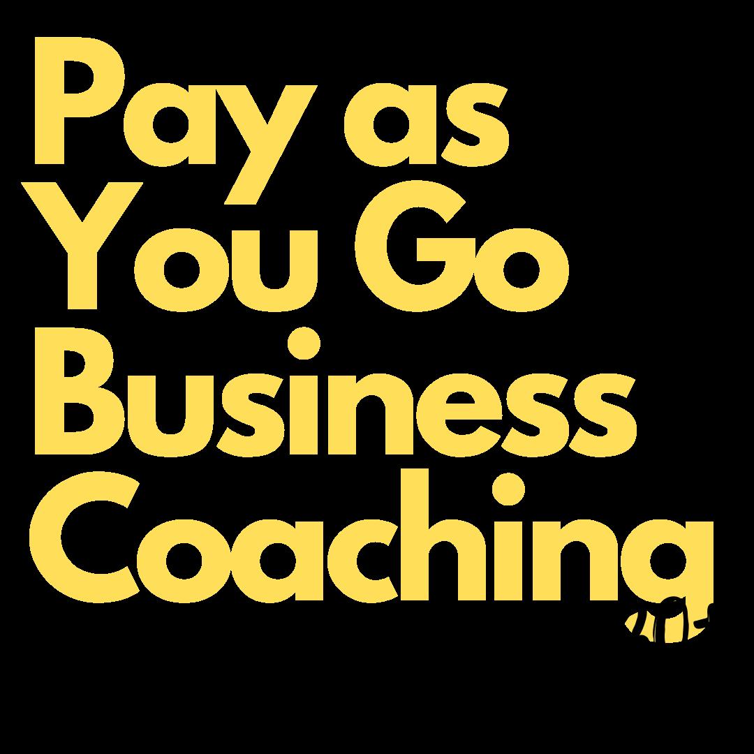 Pay as You Go Business Coaching