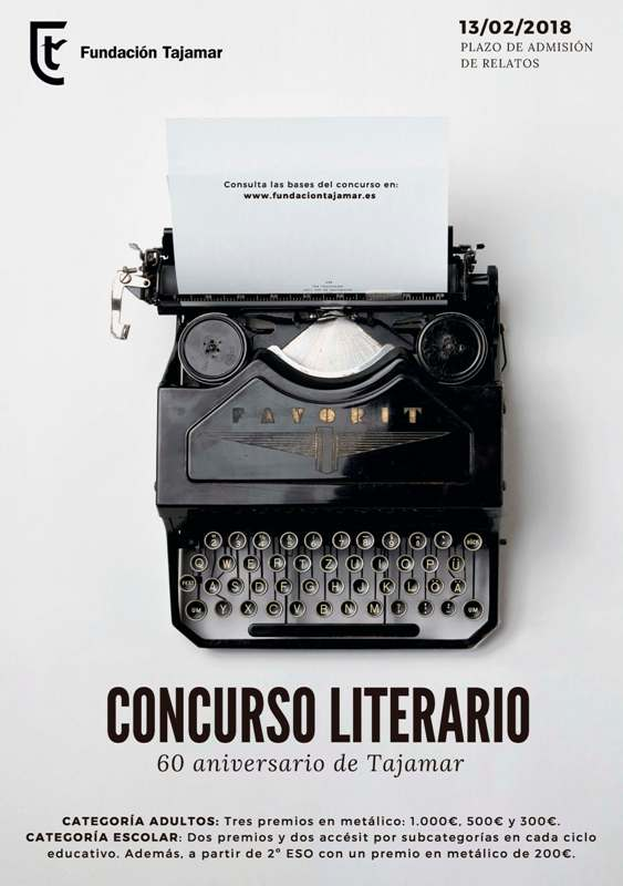 I Premio de relato corto y cuento Tajamar 2018