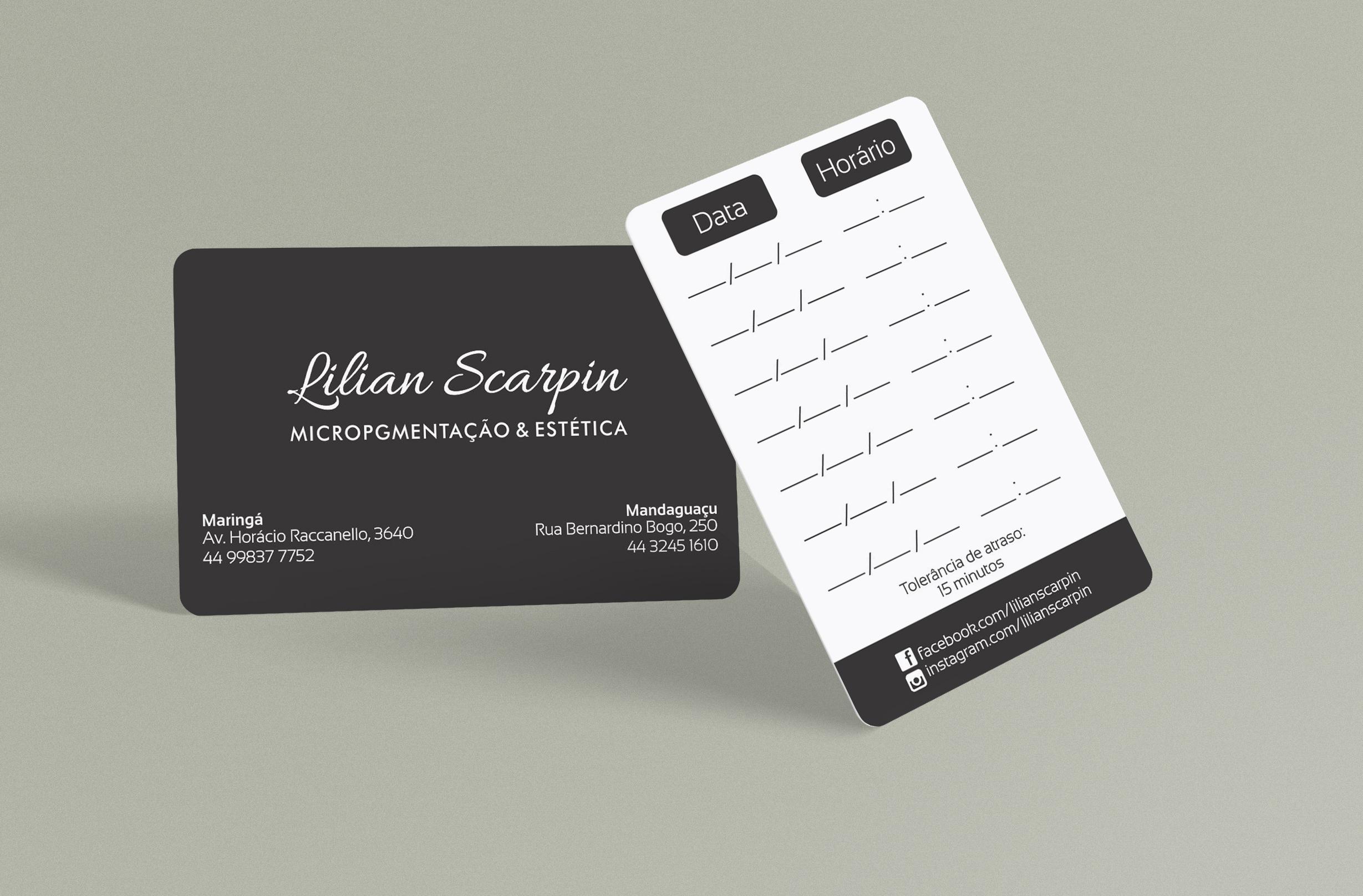 cartão Lilian Scarpin