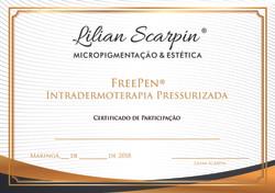Certificado FREEPEN