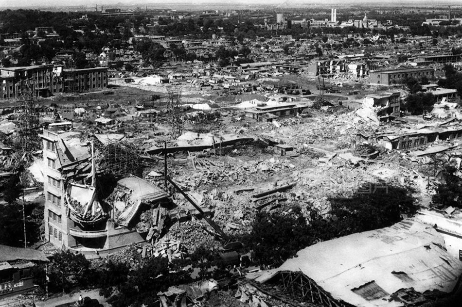 Carnage in China, Tangshan after the Earthquake in 1976