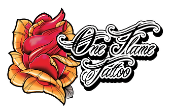 Logo One Flame Tattoo