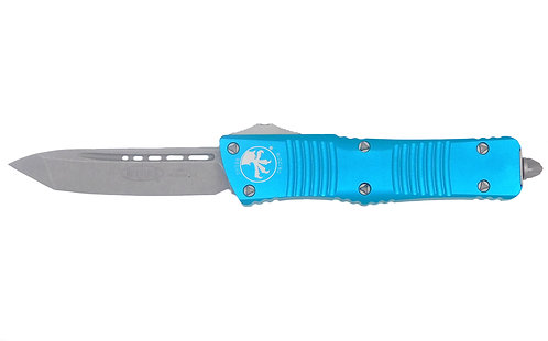 Microtech Combat Troodon T/E Turquoise Apocalyptic Standard 144-10 APTQ