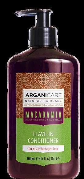 Macadamia oil leave in conditioner