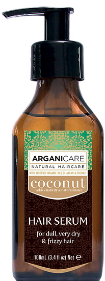 coconut oil hair care products serum