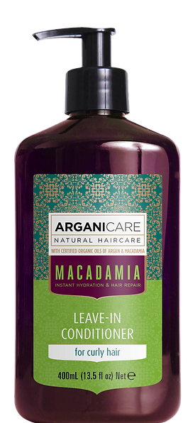 Macadamia oil leave in conditioner  curly