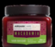 Macadamia oil hair masque