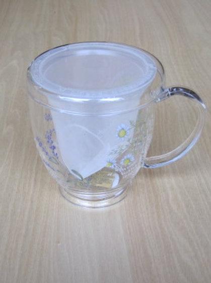 ガラスカップ ピュアハーブ