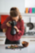 Gaia Retreat Hosue Food photography