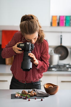 Le photographe alimentaire