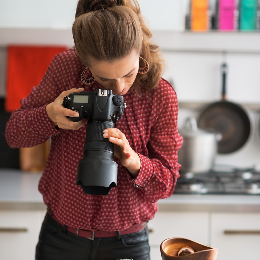 Introduction to Food Photography featuring Fujifilm