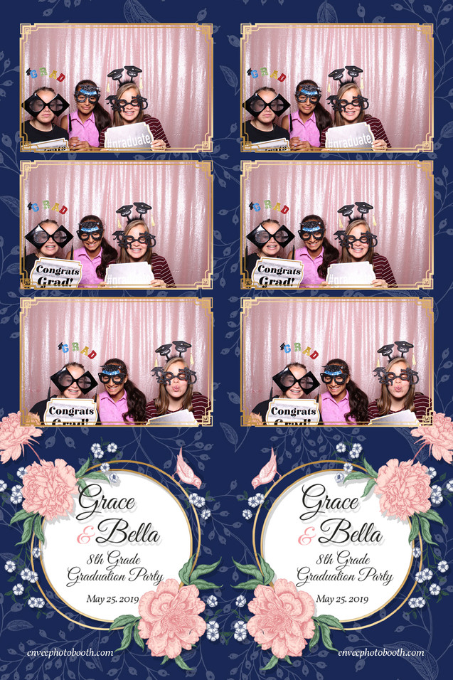 Grace and Bella's 8th Grade Graduation Party
