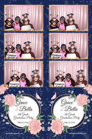 Grace and Bella's 8th Grade Graduation Party