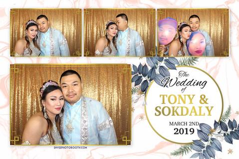 Tony and Sokdaly's Wedding