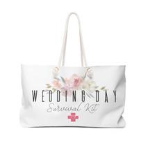 Wedding Day Survival Kit Tote Bag