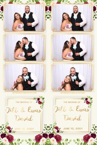 Jill & Ewas David's Wedding