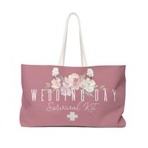 Wedding Day Survival Kit Tote Bag - Rose Gold