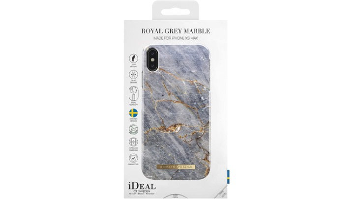 iDeal Of Sweden Royal Grey Marble iPhone X Case