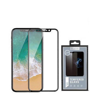 Devia iPhone 11 Pro  Tempered Glass,  Curved Privacy Black