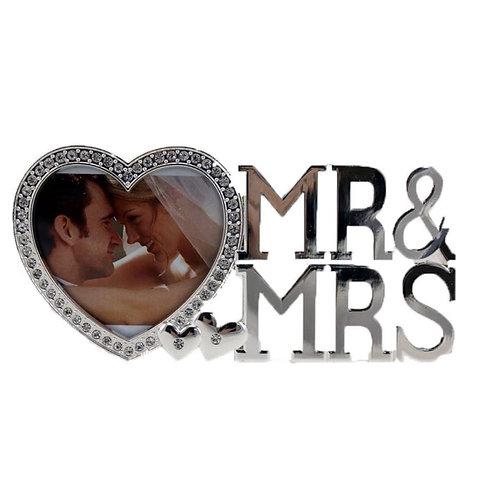 Mr. & Mrs. Silver Frame