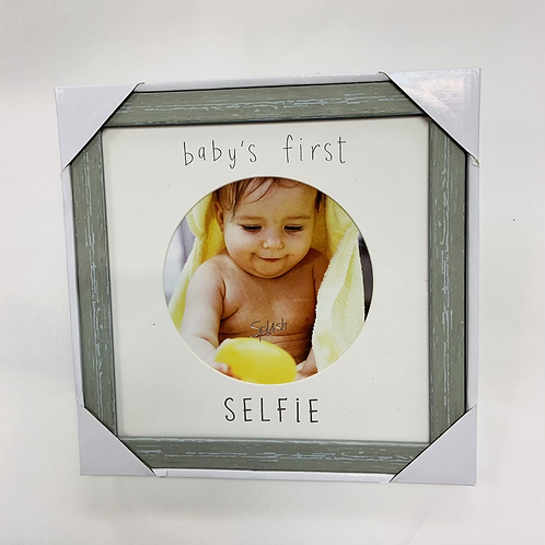 Baby's First Selfie Picture Frame