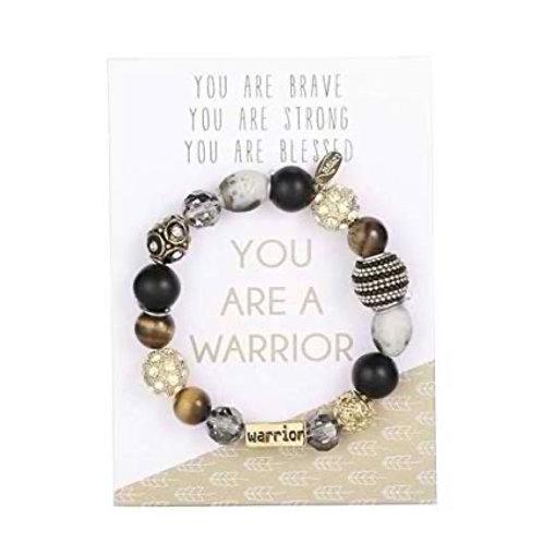 You Are A Warrior Bracelet