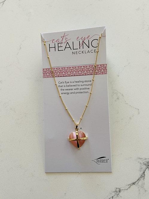 Cat's Eye Healing Necklace