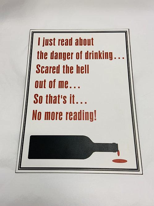 I Just Read Sign