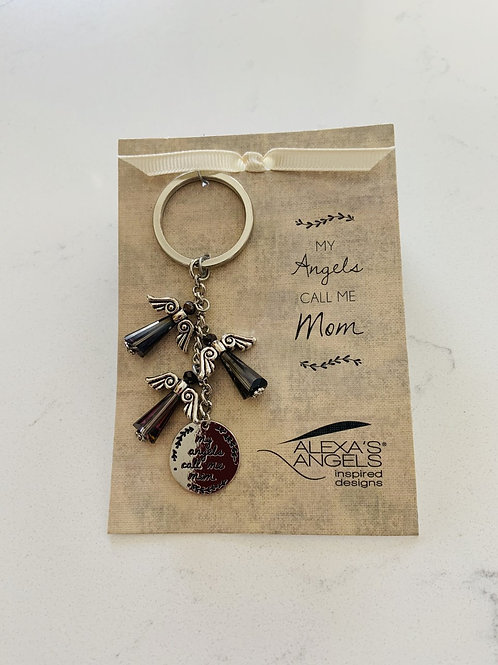 Angels Keychain - Mom