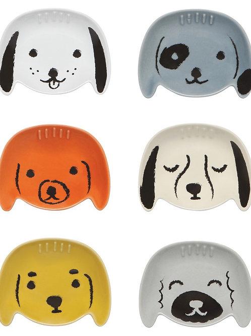 Dog Pinch Bowl Set