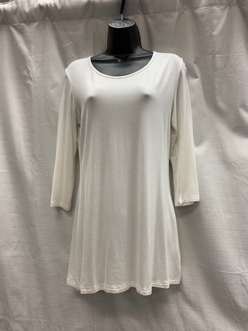 Bamboo Top with 3/4 Length Sleeves