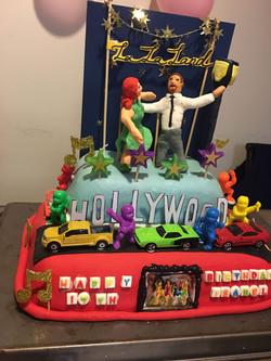 La La Land inspired cake